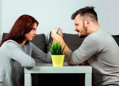 del ko kovoja vyras ir moteris